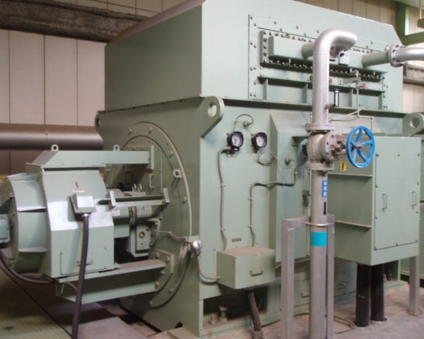 Used Steam Turbine Generator, NihonZoki, made in Japan