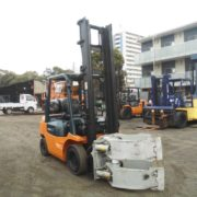 picture of the used TOYOTA forklift